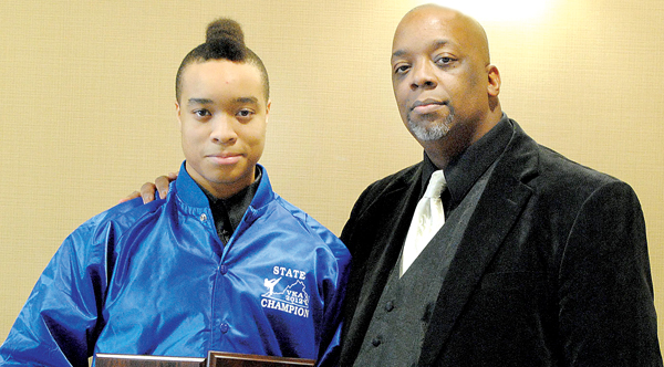 Former Gates County resident Willie C. Cordy (right) has trained his son – Willie C. Cordy III – well, so much to the point where the youngster has earned a spot on Team America – a martial arts unit that will travel overseas.