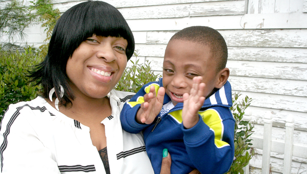 Tiffanie Watford Williams and her son, Jeremiah, have each overcome health issues – the mom now disease free from breast cancer and the son developing well after a premature birth. Photo by Amanda VanDerBroek