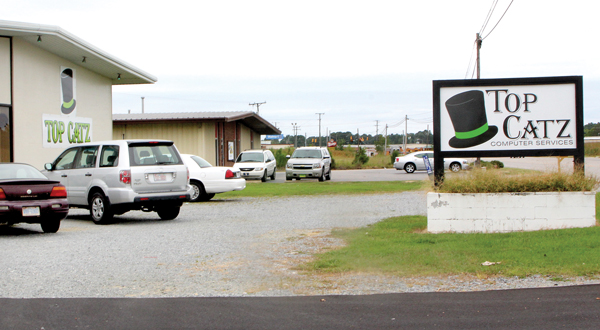 After a vote this week by the Ahoskie Town Council, Top Catz and two other Internet Cafes in town will not be allowed to expand their hours of operation on weekends. File Photo