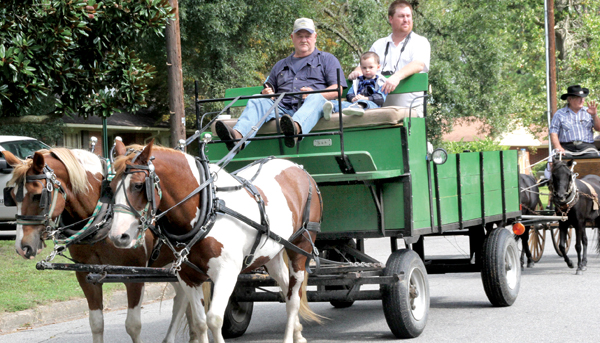Whether it's horse-drawn carriages or various activities for children, Ahoskie Heritage Day offers something for all ages. The 10th annual event is slated for Friday and Saturday, Sept. 13-14, at the Ahoskie Creek Amphitheater. File Photo
