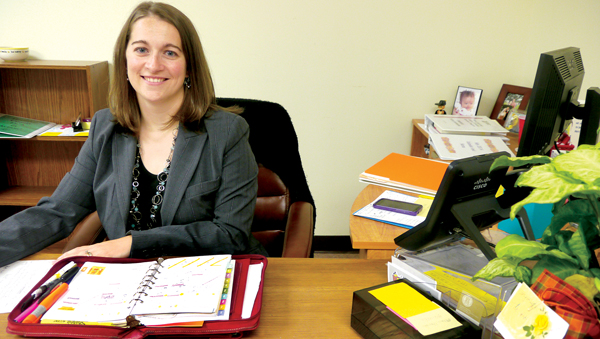 Stephanie Parker-Helmkamp, who has been with Hertford County Cooperative Extension as the Family and Consumer Sciences Agent since 2006, has been promoted to the County Director's position. Photo by Caroline Stephenson