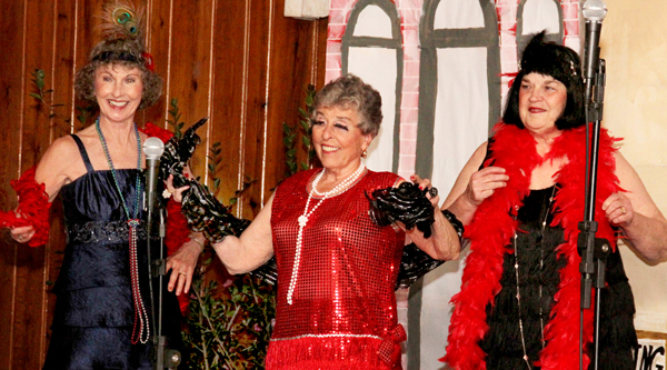 "The ""Dixie Darlings"" were just one of the many groups and individuals to perform Saturday evening in Colerain during a fundraiser for the NC Baptist Men's Disaster Relief Fund. Staff Photo by Cal Bryant"