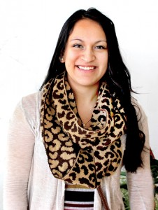 Fanny Sanchez is the first Hertford County Early High School graduate to complete a baccalaureate degree.