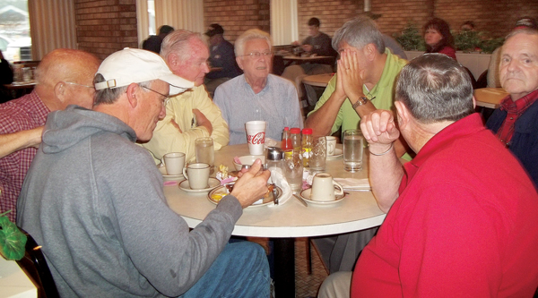 Local, state and world problems have been discussed and solved over the years at O'Connor's Restaurant where locals would gather for breakfast, lunch and loads of conversation. Contributed Photo