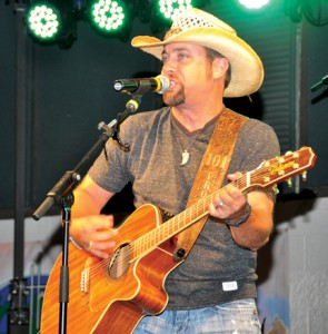 Country music star Colton James, a native of Courtland, VA and whose wife operates Whitley's BBQ in Murfreesboro, will perform at the Gates County Rodeo on May 8-9. Photo by Jim Hart