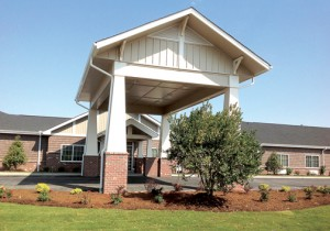 The 28,000 square foot Gates Health & Assisted Living House features the latest style of construction used by Meridian. Contributed Photo