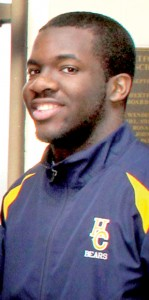 Kenneth Sharpe Jr. graduated from Hertford County High in 2014.