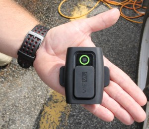 The new cameras are so small and lightweight that they can fit in the palm of your hand. Staff Photo by Cal Bryant