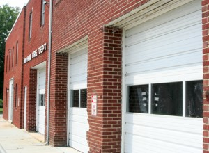 Ahoskie recently received a grant it will use to help convert the town-owned Municipal Building – its former Fire and Police Department headquarters – into a downtown business incubator. Staff Photo by Gene Motley