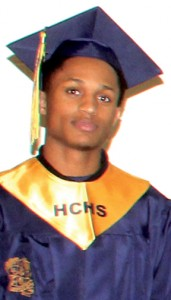 Patrick Simmons was a 2014 graduate of Hertford County High School.