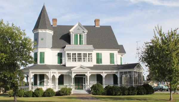 The Gray Gables House, built in 1899, is one of two properties in Winton listed on the National Register of Historic Places. The town's Historical Association has launched an effort to create a Historic District. Staff Photo by Cal Bryant