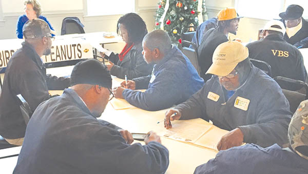 Golden Peanut workers attended a special Job Fair at the Aulander Community Building arranged by Bertie County's Office of Economic Development.  Regional businesses accepted resumes and job applications from workers for prospective employment prior to Golden Peanut's announced shutdown Feb.1. | Contributed Photo