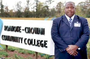 Jimmy Tate, President of Roanoke-Chowan Community College, has helped lead the local educational institution to new heights with a 35 percent increase in enrollment. File Photo
