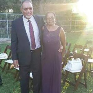 This photo taken from Facebook shows James and Anna Rouson.
